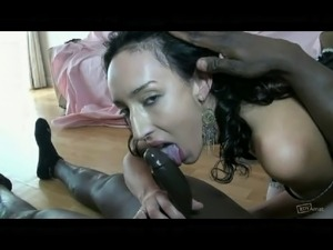 French beurette VS BBC - Hard Anal