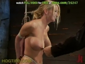 Helpless Gals Get Tied Up And Abused With Dildos And More Torture Devices free